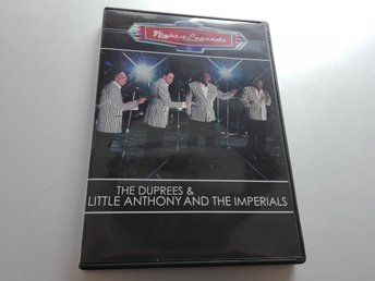 Night of Legends: Duprees & Little Anthony & the Imperials DVD - Regionsfri NTSC