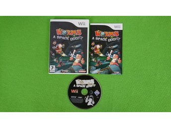 Worms A Space Oddity KOMPLETT Nintendo Wii