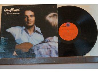 Merle Haggard - Let Me Tell You About a Song -  LP (Vinyl)