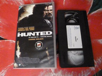 THE HUNTED, THRILLER, VHS, FILM, 93 MIN.