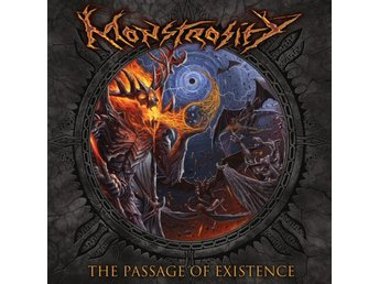 Monstrosity ‎–The Passage Of Existence lp 2018 Death metal