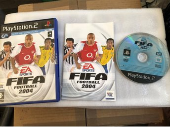 Playstation 2 PS2 -  FIFA football 2004