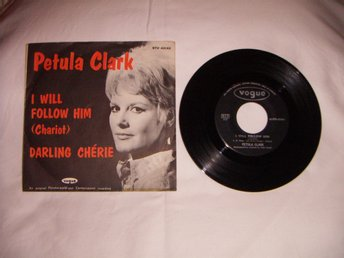 vinyl 45 rpm Petula Clark - I will follow him + 1