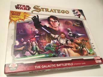 Stratego Star Wars The Clone Wars - 100% KOMPLETT Strategispel +++++
