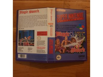Magic Sword - Hyrbox - Super Nintendo Yapon SNES