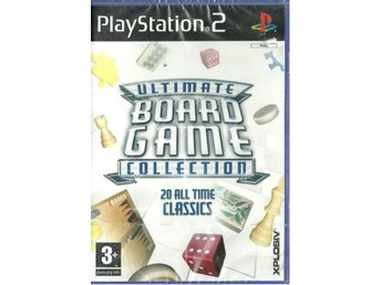 ULTIMATE BOARD GAME COLLECTION     (INPLASTAT PS2 SPEL)