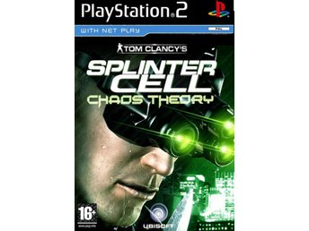Tom Clancys Splinter Cell: Chaos Theory - Playstation 2 - Varberg - Tom Clancys Splinter Cell: Chaos Theory - Playstation 2 - Varberg