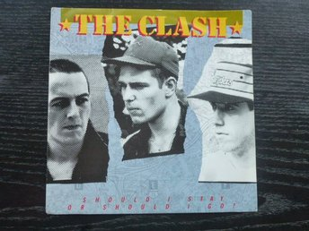 "CLASH - Should I stay or should I go  CBS Holland -82 7"" singel"