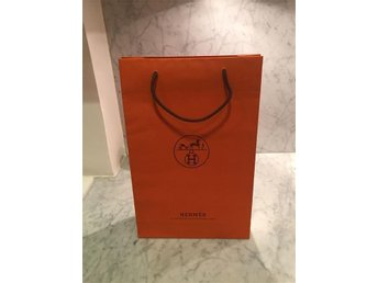 Hermès Paris shoppingpåse