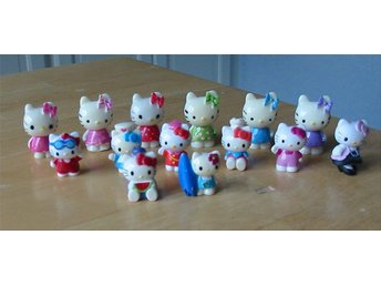 Små Hello kitty figurer, se bilder