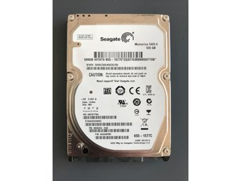 "Seagate Momentus 5400.6 500GB Internal 5400RPM 2.5"" (ST9500325ASG) HDD"