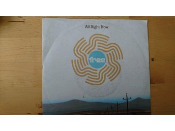 Vinyl singel, Free - All right now / I´m a mover 1970/1991