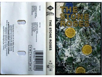 THE STONE ROSES - S/t, Kassett 1989 Germany Silvertone Records