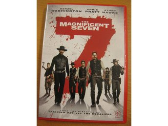 THE MAGNIFICENT SEVEN - DENZEL WASHINGTON - DVD 2017