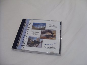 Argentina Tourist Trains 1999 Photo CD PC & Mac CD ROM
