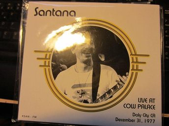 santana-llive at cow palace dec 31 1977