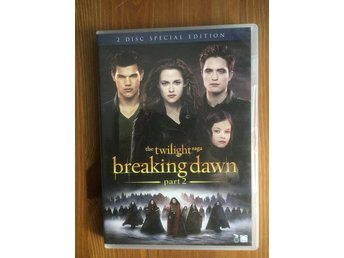 Breaking Dawn part 2 - The Twilight Saga - DVD Mkt Bra Skick!