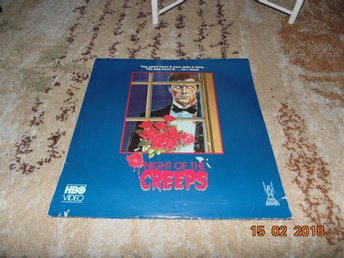 Night of the creeps  - 1st laserdisc