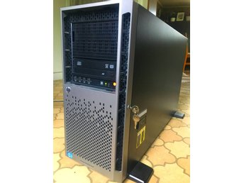 Server: HP Proliant ML350p Gen8, DUBBLA 2.4ghz Xenon CPU, 32GB ram,2x15k diskar