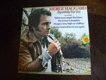 MERLE HAGGARD  CAPITOL RECORDS  7C 050-82255  ESPECIALLY FOR YOU