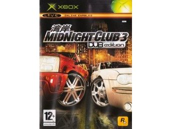 XBOX - Midnight Club 3: Dub Edition (Beg)