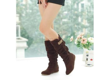 Dam Boots autumn boots autumn winter shoes Brown 42