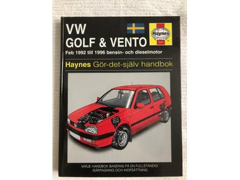 Reparationshandbok VW Golf & Vento 1992-1996