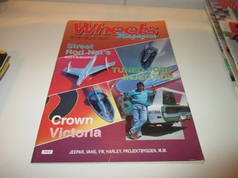 Wheels Magazine Nr 9 1989 Tuned Port Injection Crown Victori