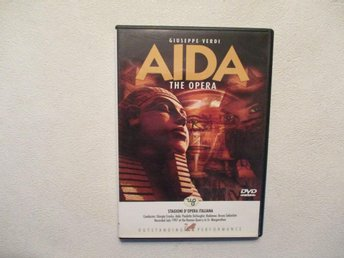 Aida. Verdi-opera. Dvd. Import. Ej text.