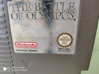 NES Nintendo 8-bits The battle of olympus SCN