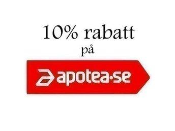 8192a0fc2cfc Apotea 10% rabatt med rabattkod (344336400) ᐈ Köp på Tradera
