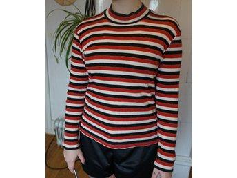 Randig långärmad tröja, Lindex