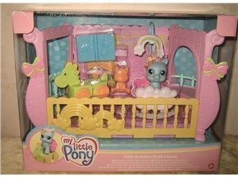 My Little Pony - Little Rainbow Dash's Room Docka *Ny*