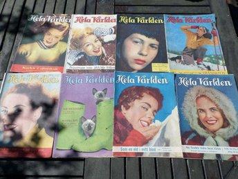 ÅTTA HELA VÄRLDEN 1948 - 1956 - Strandbaden - ÅTTA HELA VÄRLDEN 1948 - 1956 - Strandbaden