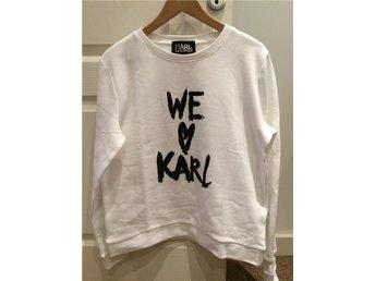 Karl Lagerfeld Ny We Love Karl sweatshirt - Gävle - Karl Lagerfeld Ny We Love Karl sweatshirt - Gävle