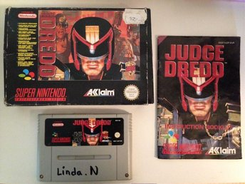 Judge Dredd – Komplett –  SNES – Super Nintendo – PAL – EUR
