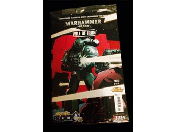 Warhammer - Serietidning - Comic Nerd Block Exclusive - Inplastad (Will of Iron)