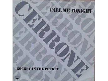"Cerrone title* Call Me Tonight* Electronic, Disco 7"" EU"