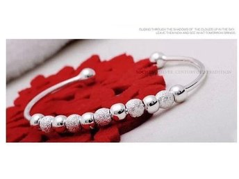 Wholesale New product silver filled Women Bangle Bracelet