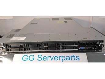 "HP Proliant DL360 G6 E5520 6GB 8x2,5"" P410i 2xPSU Rackskenor"