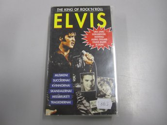The King of Rock'N'Roll - Elvis  -  VHS