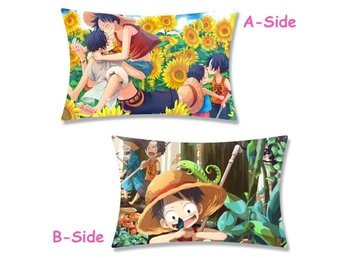 Anime ONE PIECE Luffy otaku Dakimakura Örngott Pillow Case