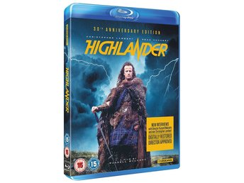 Highlander 30th Anniversary Edition [Blu-ray] Sean Connery, Christopher Lambert