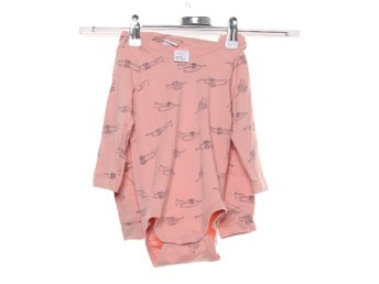 Lindex Kids, Set, Strl: 68, Rosa