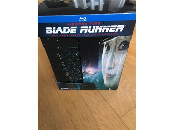 BLADE RUNNER 30th anniversary Box (Japan) 3-Disc / Artbook / replica / skisskort