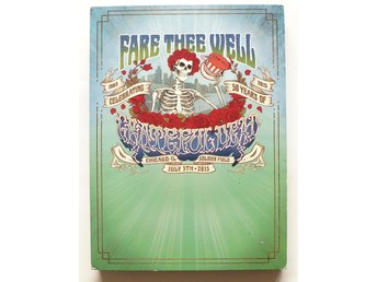 ** Grateful Dead Fare The Well Celebrating 50 years of...  3 CD 2 Blue Ray   **