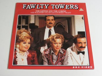 FAWLTY TOWERS: THE KIPPER AND THE CORPSE (Laserdisc)