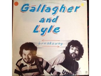Gallagher And Lyle LP Breakaway