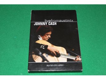 Johnny Cash - Live from Austin, Texas - musik-dvd.