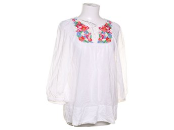 The Garden Collection by H&M, Blus, Strl: 38, Vit, Bomull